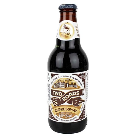 Bild von Two Roads - ESPRESSWAY - COLD BREW COFFEE STOUT - 0,33