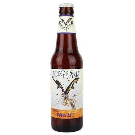 Bild von Flying Dog - DOGGIE STYLE - PALE ALE - USA 0,33l (MHD 19. April 2019)